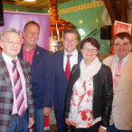 V.l.n.r.: Horst Arnold, Ronaldd Reichenberg, Carsten Träger, Elke Zahl, Harry Scheuenstuhl